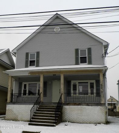 Rent this 4 bed apartment on 1445 West Locust Street in Scranton, PA 18504