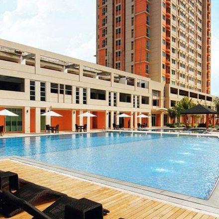 Rent this 2 bed condo on Coco's Garden Guestroom in Peñafrancia Extension, Manila