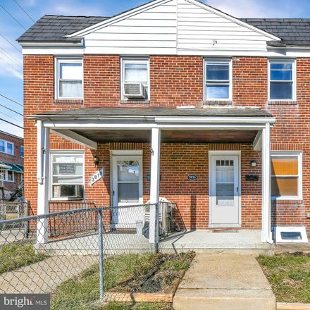 Rent this 3 bed townhouse on 3816 Colborne Road in Baltimore, MD 21229