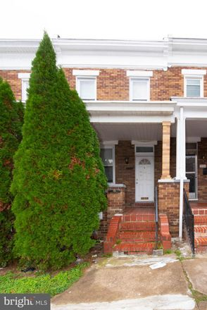 Rent this 3 bed townhouse on 3237 Kenyon Avenue in Baltimore, MD 21213