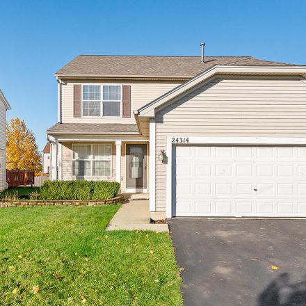 Rent this 4 bed house on 24314 Walnut Circle in Plainfield, IL 60585