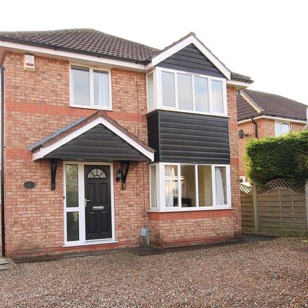 Rent this 4 bed house on The Nurseries in Molescroft HU17 7JS, United Kingdom