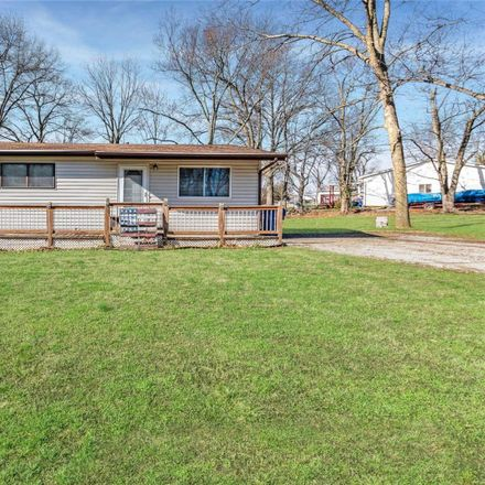 Rent this 2 bed house on 430 Hickory Dale Drive in Harvester, MO 63304