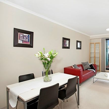 Rent this 1 bed apartment on 2504/1-5 Hosking PLace