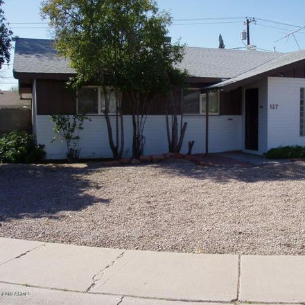 Rent this 3 bed house on 127 East del Rio Drive in Tempe, AZ 85282