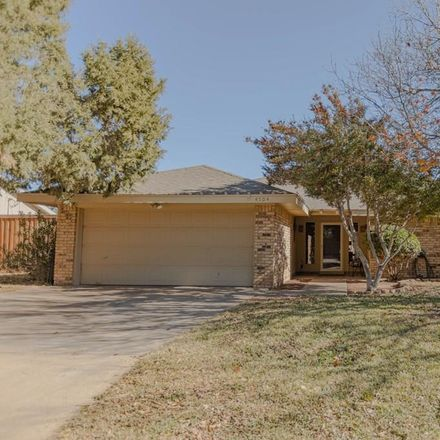 Rent this 3 bed house on 4504 Falcon Place in Midland, TX 79707