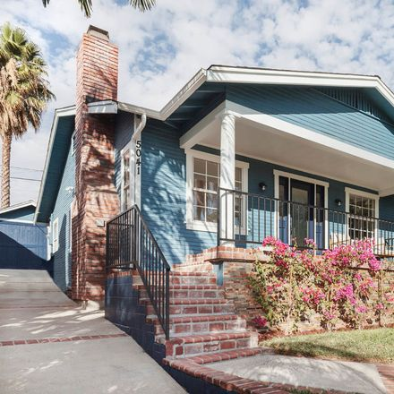 Rent this 3 bed house on 5041 Range View Avenue in Los Angeles, CA 90042