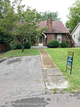 Rent this 3 bed apartment on 1472 McAlpine Avenue in Nashville-Davidson, TN 37216