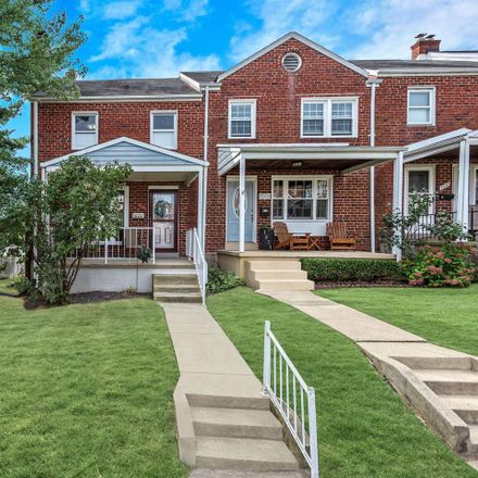Rent this 3 bed townhouse on 1041 Downton Road in Relay, MD 21227