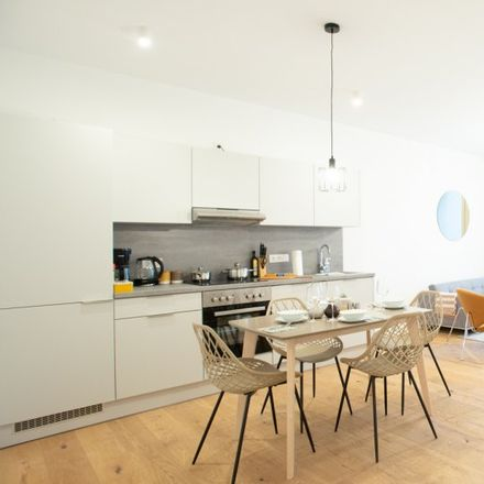Rent this 1 bed apartment on Nordkapstraße 7 in 10439 Berlin, Germany