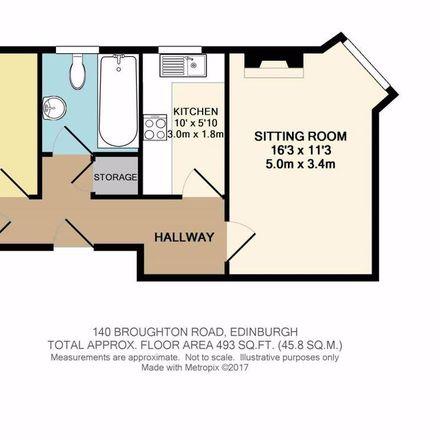 Rent this 1 bed apartment on 140 Broughton Road in Edinburgh EH7 4LG, United Kingdom