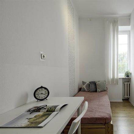 Rent this 1 bed apartment on Powsińska 24 in 02-903 Warsaw, Poland