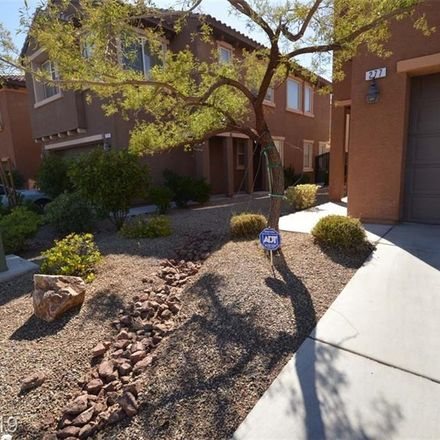 Rent this 3 bed loft on 277 Trailing Putt Way in Las Vegas, NV