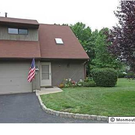 Rent this 2 bed townhouse on 75 Deer Path Court in Tinton Falls, NJ 07724