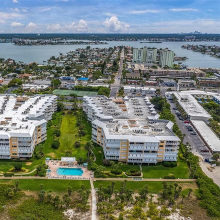 Rent this 3 bed condo on Silver Sands Building A in 6500 Sunset Way, St. Pete Beach