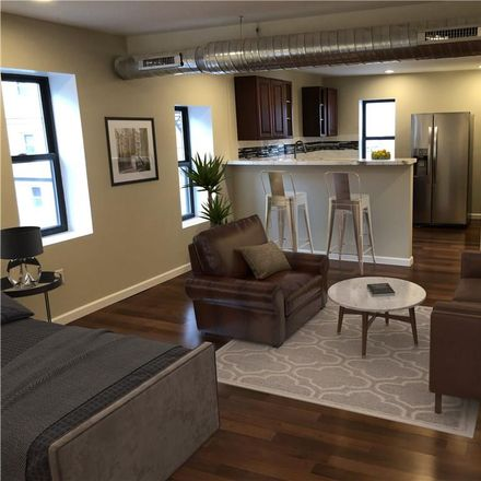 Rent this 1 bed apartment on 85 West Chippewa Street in Buffalo, NY 14202