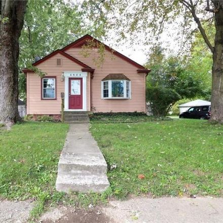 Rent this 1 bed house on 2087 East 47th Street in Indianapolis, IN 46205