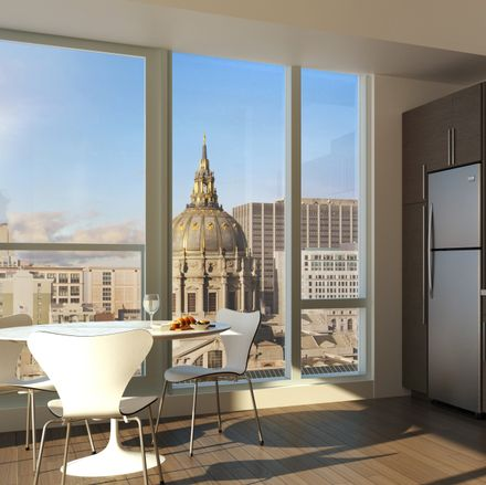 Rent this 2 bed apartment on War Memorial Opera House in 301 Van Ness Avenue, San Francisco