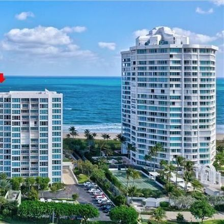 Rent this 2 bed condo on 1620 South Ocean Boulevard in Lauderdale-by-the-Sea, FL 33062