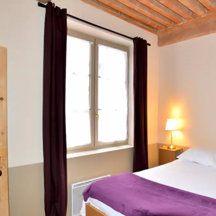 Rent this 1 bed apartment on 12 Rue Tupin in 69002 Lyon, France