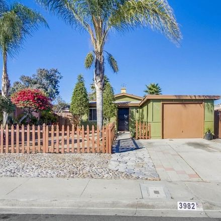 Rent this 3 bed house on 3982 Marcwade Drive in San Diego, CA 92154