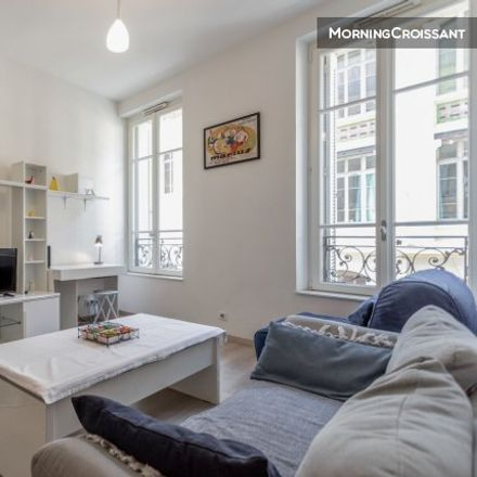 Rent this 1 bed apartment on 63B Rue de la République in 13002 Marseille, France