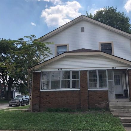 Rent this 2 bed house on 853 Lincoln Street in Indianapolis, IN 46203