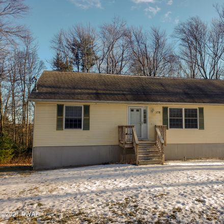 Rent this 3 bed house on 178 Little Walker Road in Shohola Township, PA 18458