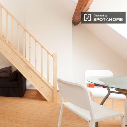 Rent this 1 bed apartment on Rue Souveraine - Opperstraat 86 in 1050 Ixelles - Elsene, Belgium