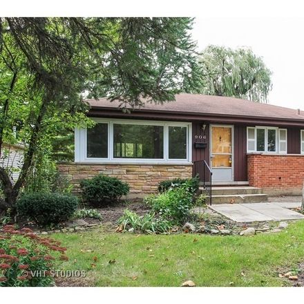Rent this 2 bed house on 906 Meadow Road in Fair Meadows, IL 60062