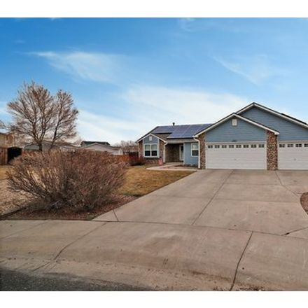 Rent this 4 bed house on 2901 Swan Point Court in Evans, CO 80620