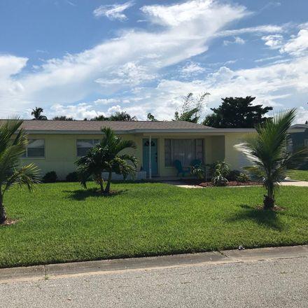 Rent this 3 bed apartment on 156 E Claridge St in Satellite Beach, FL