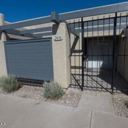 Rent this 2 bed townhouse on S 5th Pl in Tempe, AZ