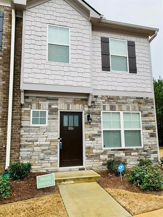 Rent this 3 bed townhouse on 886 Ambient Way in Atlanta, GA 30331