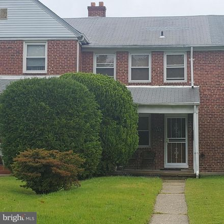 Rent this 3 bed townhouse on 1640 East Belvedere Avenue in Baltimore, MD 21239
