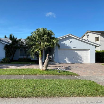 Rent this 5 bed house on 14491 Southwest 150th Street in Country Walk, FL 33186