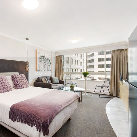 Rent this 1 bed apartment on Level 17/433 Kent Street