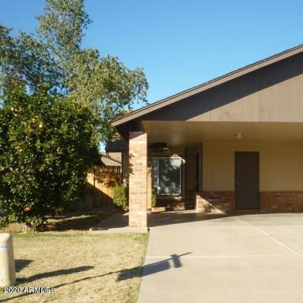 Rent this 3 bed townhouse on 3228 East Crescent Avenue in Mesa, AZ 85204
