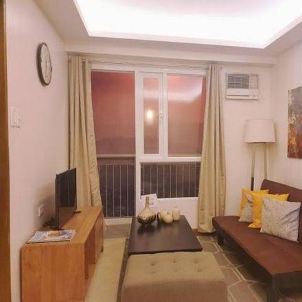 Rent this 1 bed condo on Petron in J. P. Rizal Street, Marikina