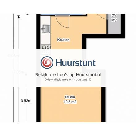 Rent this 0 bed apartment on Nieuw-Rozenburgstraat in 2552 GT The Hague, The Netherlands