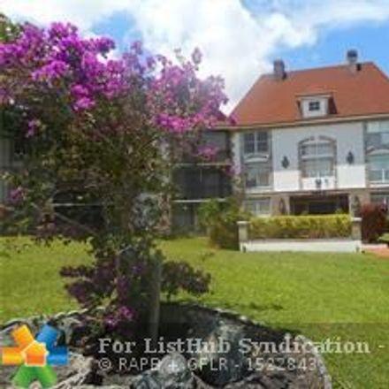Rent this 1 bed condo on 3650 Inverrary Drive in Lauderhill, FL 33319