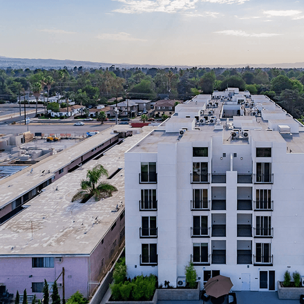 Rent this 2 bed apartment on 15262 Kittridge Street in Los Angeles, CA 91405