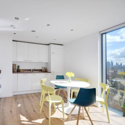 Rent this 1 bed apartment on Hartley House in Chambers Street, London SE16 4WG