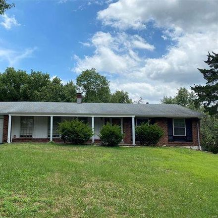 Rent this 3 bed house on 1170 Mackinac Drive in Fernridge, MO 63146