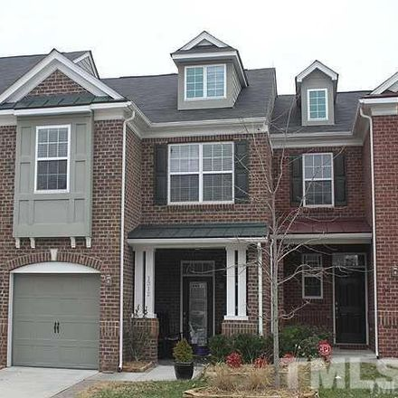 Rent this 3 bed townhouse on 1312 Seattle Slew Lane in Cary, NC 27519