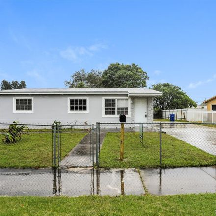 Rent this 3 bed house on 20432 Northwest 23rd Court in Lake Lucerne, FL 33056