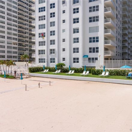Rent this 1 bed condo on Regency Tower South in 3750 Galt Ocean Drive, Fort Lauderdale