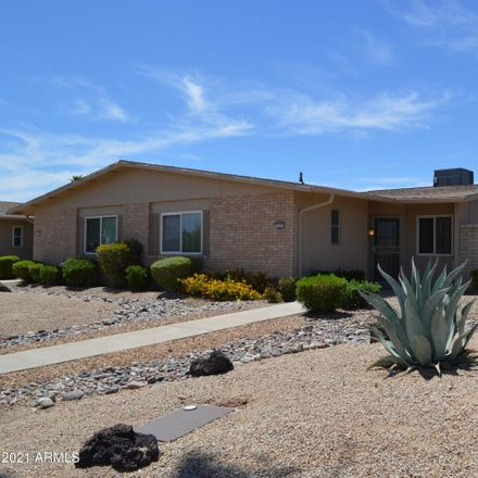 Rent this 1 bed apartment on 19238 North Camino del Sol in Sun City West, AZ 85375