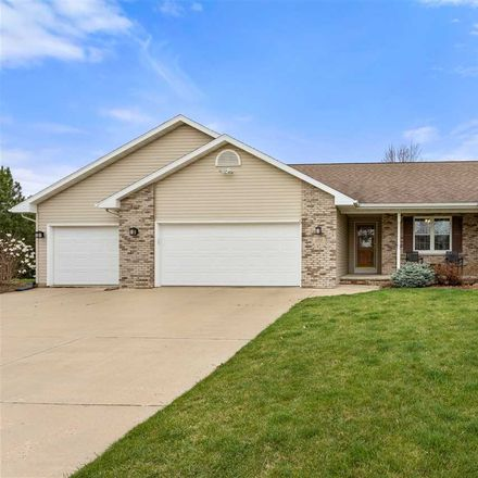 Rent this 3 bed house on Christopher Ln in Appleton, WI
