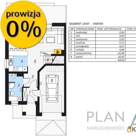 Rent this 5 bed house on Kwiatowa 1 in 32-031 Mogilany, Poland